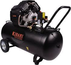 Compressor 100 liter, 3 pk, dubbele cilinder