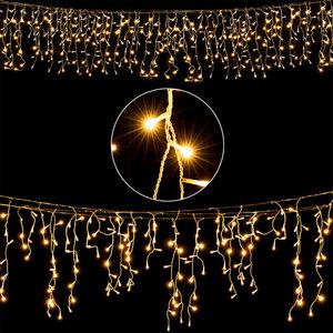 Lichtketting, 200 LED, warmwit, 5 meter, kerstverlichting