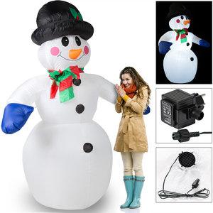 """Tweede kans artikel"" Opblaasbare sneeuwman, sneeuwpop 240cm"