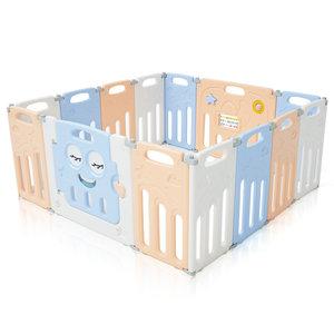 Grondbox, kruipbox, speelbox, playpen, baby, peuter en kind afscherming - Luna
