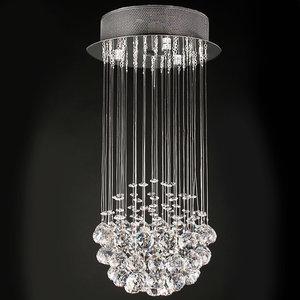 Nieuw Luxe kroonluchter incl. diverse kristallen | www.somultishop.com RZ-78