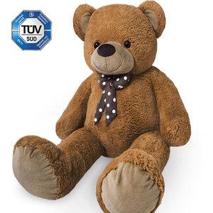 Teddybeer 175 cm, Valentijnsdag, knuffelbeer, teddy XXXL , knuffel, beer, bruin