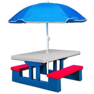 Kinderpicknicktafel, picknickset