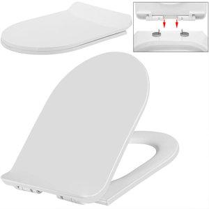 WC bril, toiletzitting, ultraplat, snelle montage
