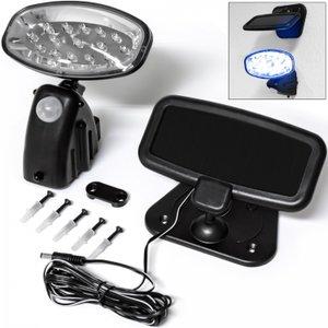 Solar buitenlamp, LED buitenverlichting, verlichting op zonne-energie, oplaadbaar, bewegingsmelder