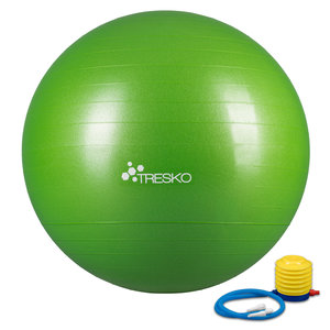 Yogabal Groen 65 cm, Trainingsbal, Pilates, gymbal